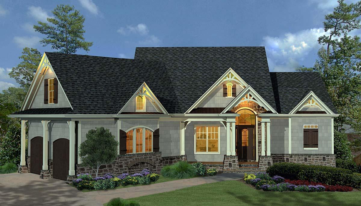 House Plan 80734