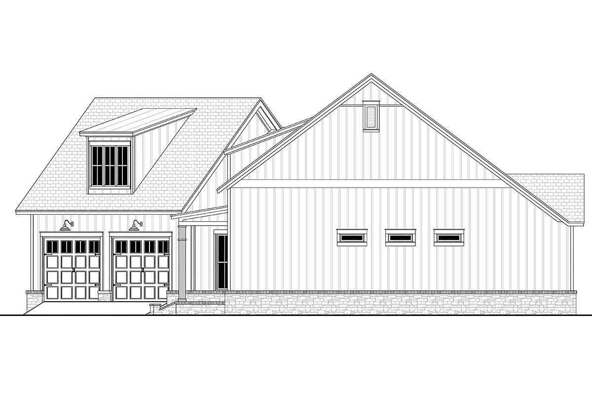Country, Farmhouse, Traditional House Plan 80803 with 3 Beds, 3 Baths, 2 Car Garage Picture 1
