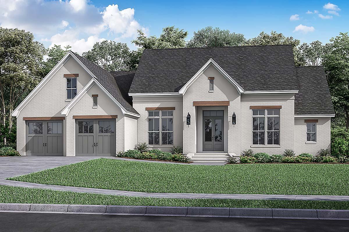 House Plan 80807