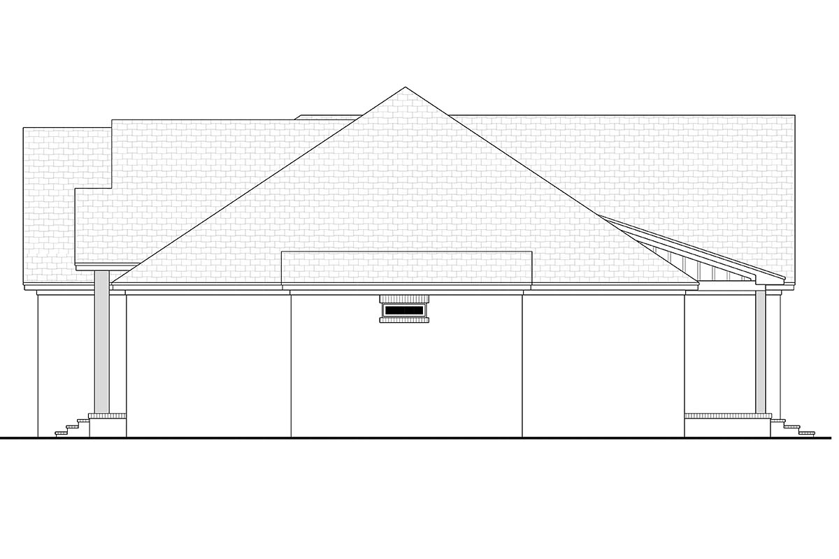 Country, Farmhouse, Traditional House Plan 80812 with 3 Beds, 2 Baths, 3 Car Garage Picture 1
