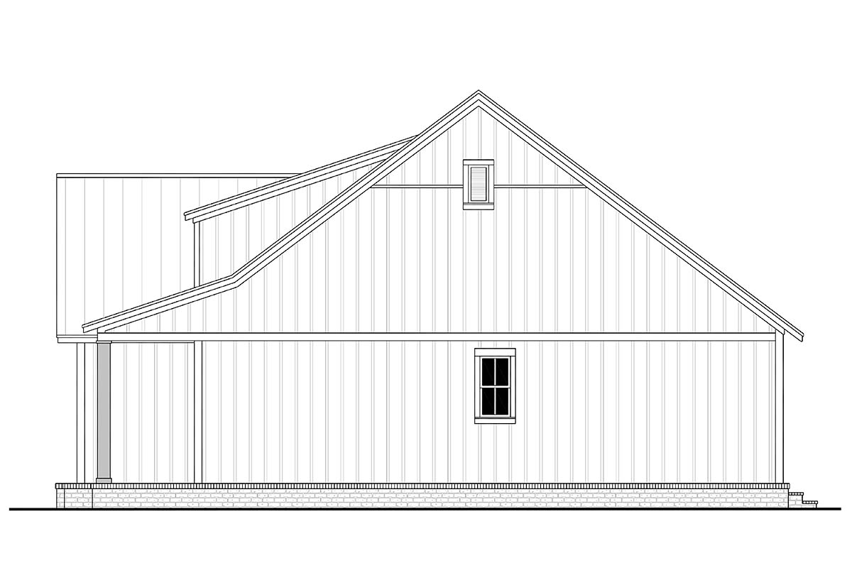 Country, Farmhouse House Plan 80813 with 3 Beds, 2 Baths, 2 Car Garage Picture 1