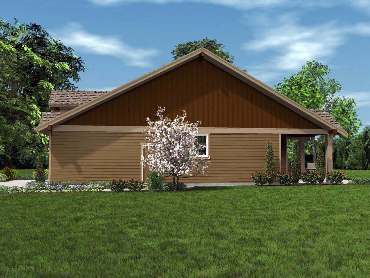 Bungalow, Cottage, Craftsman House Plan 81201 with 3 Beds, 2 Baths, 2 Car Garage Picture 1