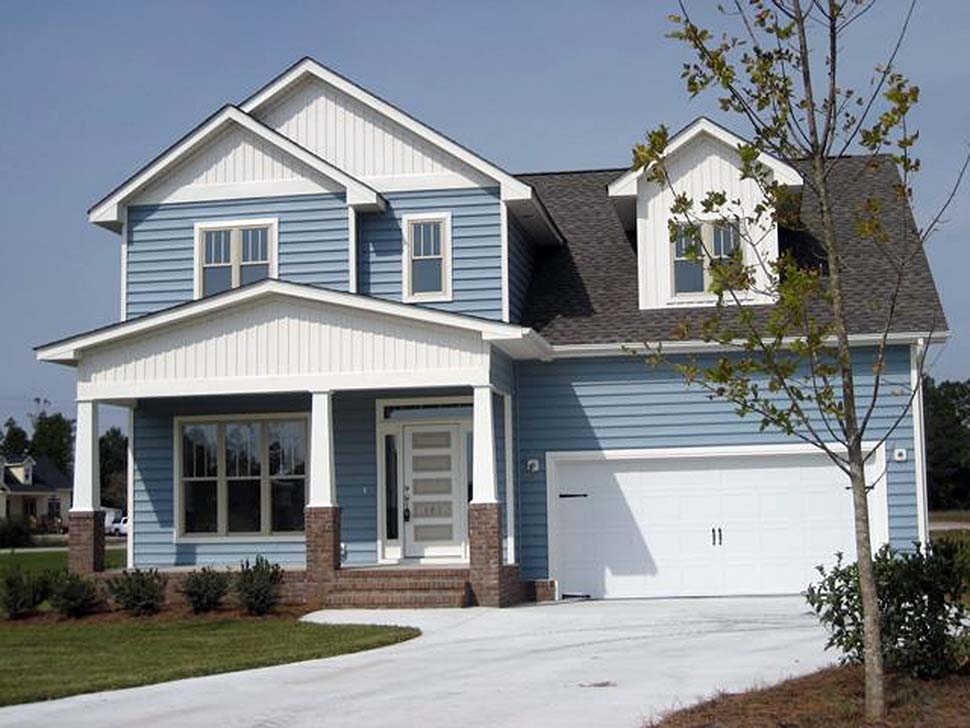 Craftsman, Traditional House Plan 81216 with 3 Beds, 3 Baths, 3 Car Garage Picture 13