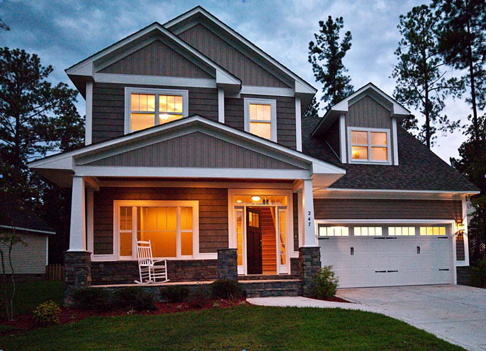 Craftsman, Traditional House Plan 81216 with 3 Beds, 3 Baths, 3 Car Garage Picture 7