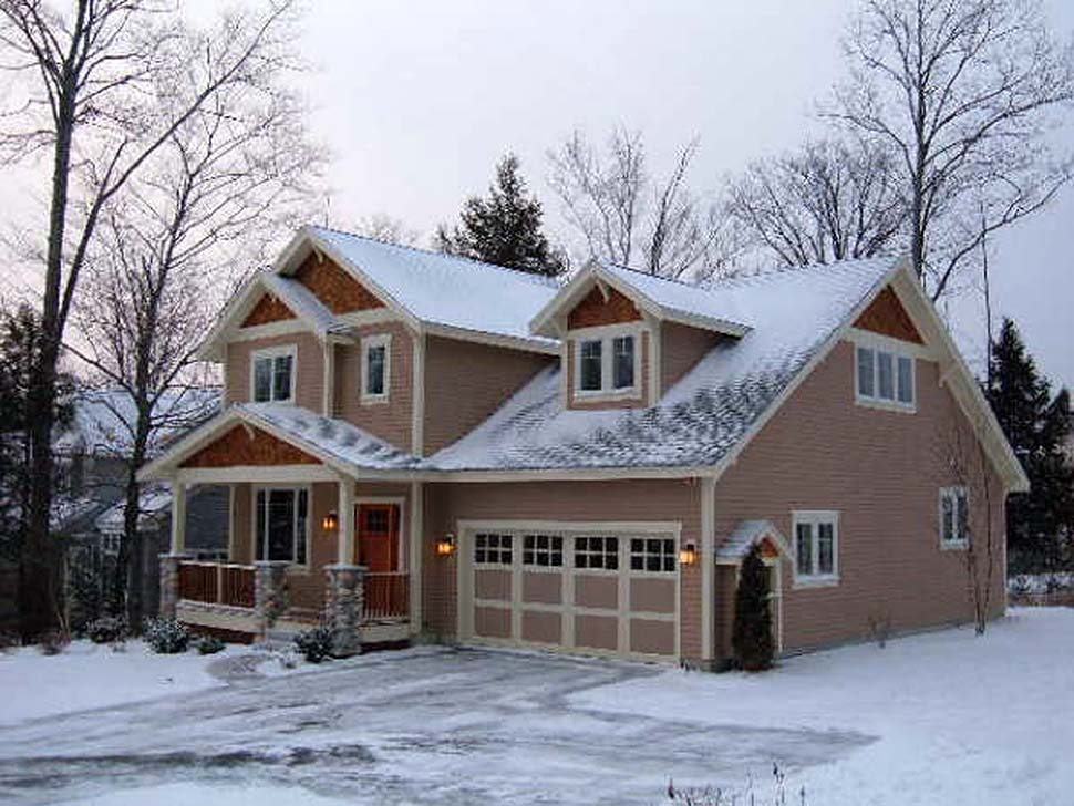 Craftsman, Traditional House Plan 81216 with 3 Beds, 3 Baths, 3 Car Garage Picture 9