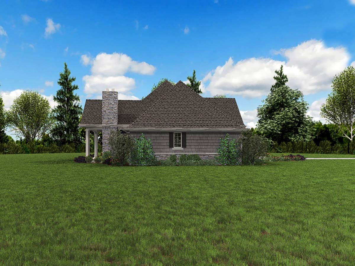 Craftsman House Plan 81218 with 3 Beds, 4 Baths, 3 Car Garage Picture 2