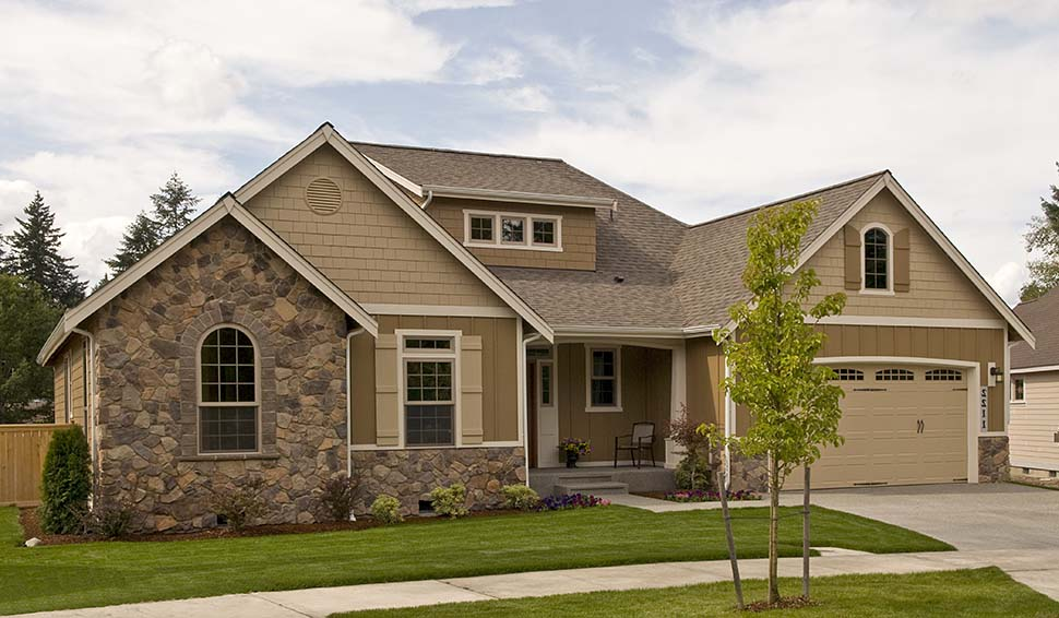 Bungalow, Craftsman House Plan 81227 with 3 Beds, 2 Baths, 3 Car Garage Picture 9