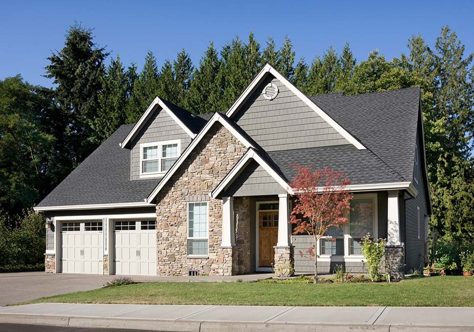 Bungalow, Craftsman House Plan 81232 with 3 Beds, 3 Baths, 2 Car Garage Picture 12