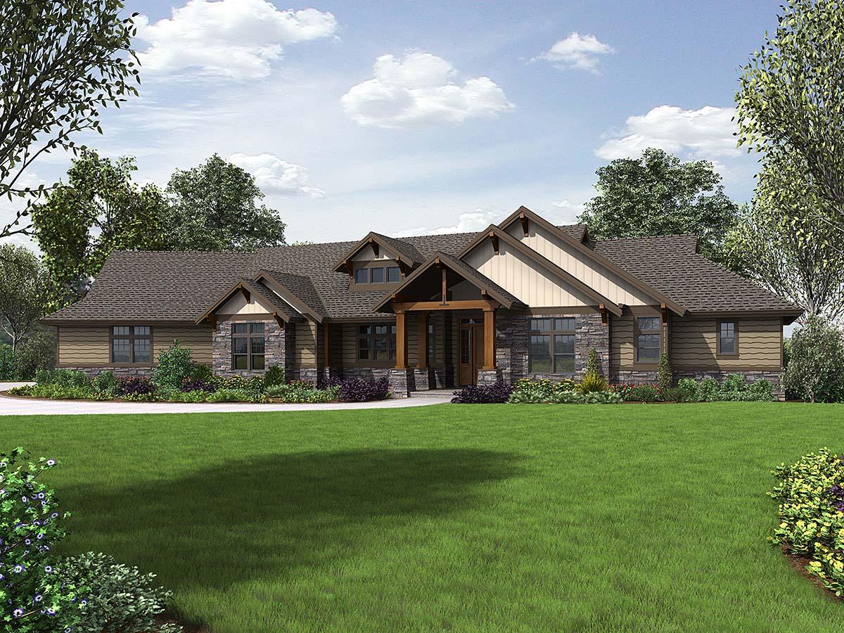 House Plan 81238