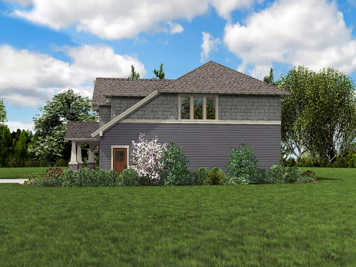 Craftsman House Plan 81265 with 3 Beds, 3 Baths, 2 Car Garage Picture 1