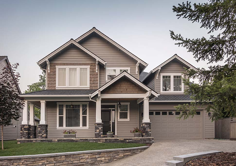 Craftsman House Plan 81265 with 3 Beds, 3 Baths, 2 Car Garage Picture 3