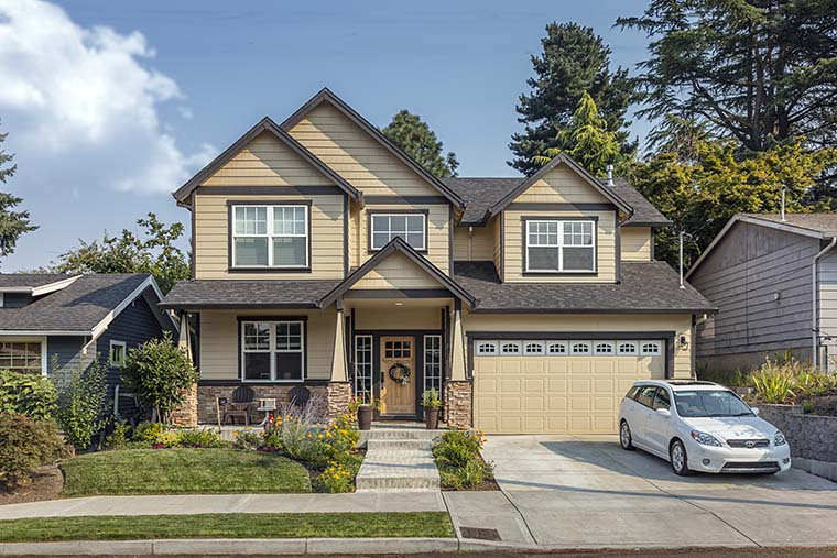 Craftsman House Plan 81265 with 3 Beds, 3 Baths, 2 Car Garage Picture 5