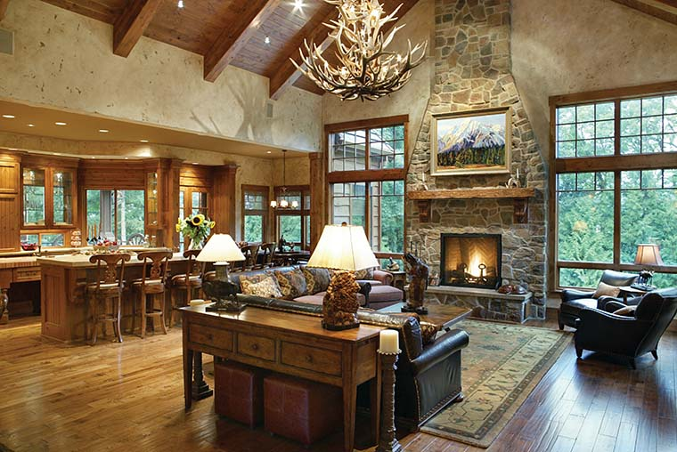 Craftsman, Tuscan House Plan 81271 with 4 Beds, 5 Baths, 4 Car Garage Picture 5
