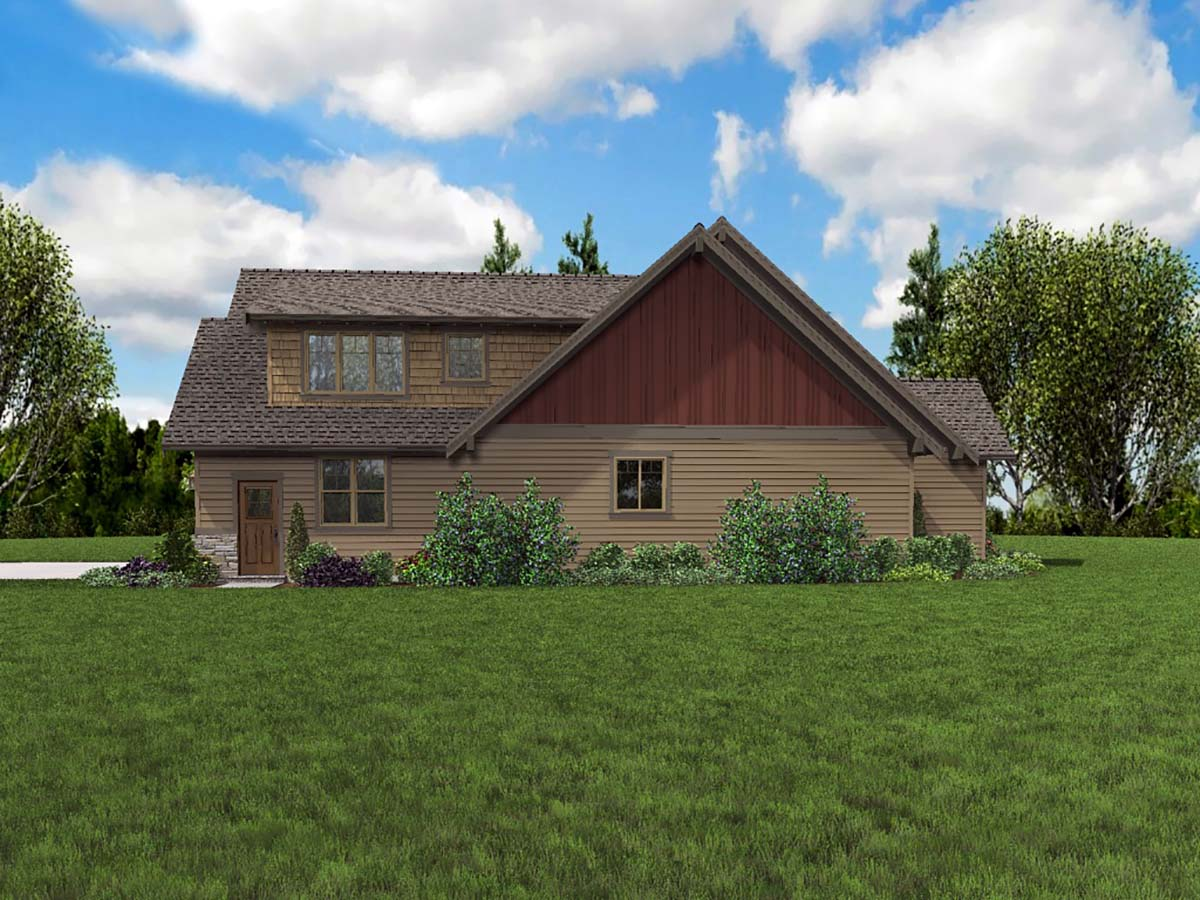 Bungalow, Craftsman, Ranch, Traditional House Plan 81273 with 3 Beds, 4 Baths, 3 Car Garage Picture 1