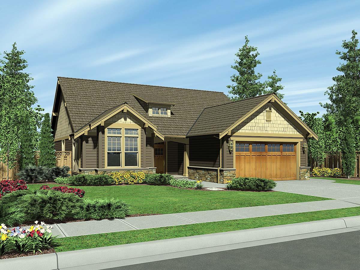 House Plan 81292