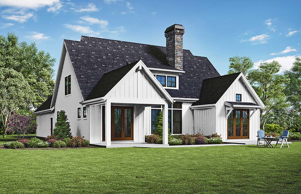 Traditional House Plan 81296 with 3 Beds, 3 Baths, 2 Car Garage Picture 2