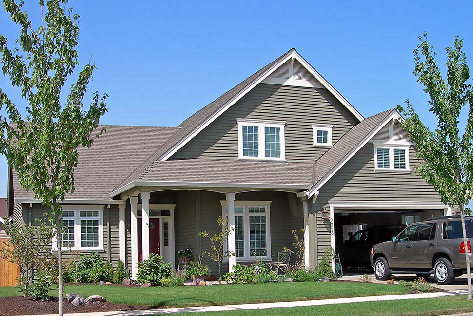 Bungalow House Plan 81300 with 3 Beds, 3 Baths, 3 Car Garage Picture 4