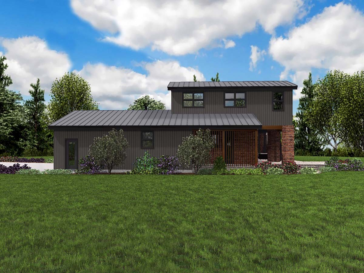 Contemporary, Modern House Plan 81304 with 3 Beds, 3 Baths, 3 Car Garage Picture 1
