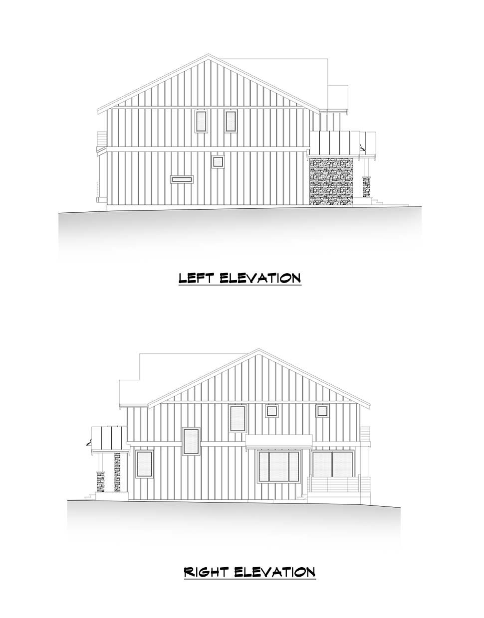 Craftsman, Farmhouse House Plan 81907 with 4 Beds, 3 Baths, 3 Car Garage Picture 4