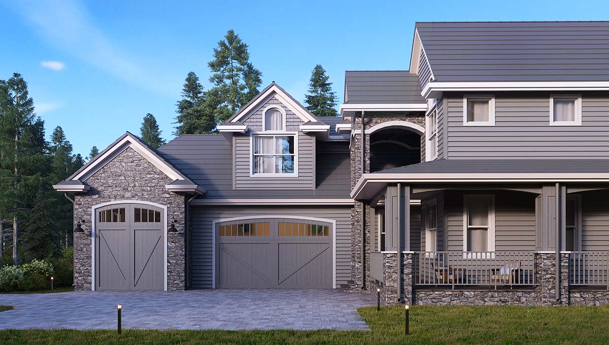 Traditional House Plan 81910 with 5 Beds, 5 Baths, 3 Car Garage Picture 1