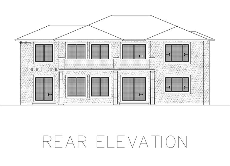 Mediterranean House Plan 81941 with 4 Beds, 5 Baths Picture 5