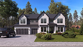 Plan Number 81956 - 4941 Square Feet