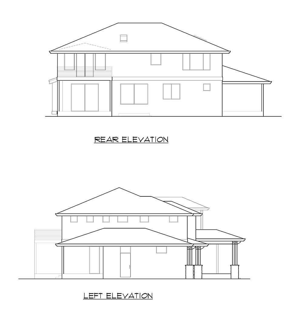Colonial, Contemporary, Traditional House Plan 81960 with 3 Beds, 4 Baths, 3 Car Garage Picture 4