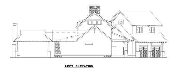 Country, Craftsman, Farmhouse House Plan 82085 with 5 Beds, 4 Baths, 2 Car Garage Picture 1