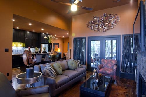 Craftsman, Italian, Mediterranean House Plan 82113 with 3 Beds, 2 Baths, 2 Car Garage Picture 2