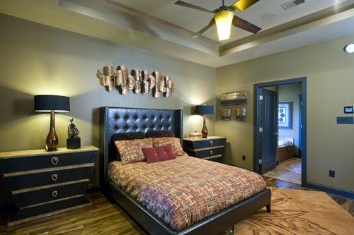 Craftsman, Italian, Mediterranean House Plan 82113 with 3 Beds, 2 Baths, 2 Car Garage Picture 3