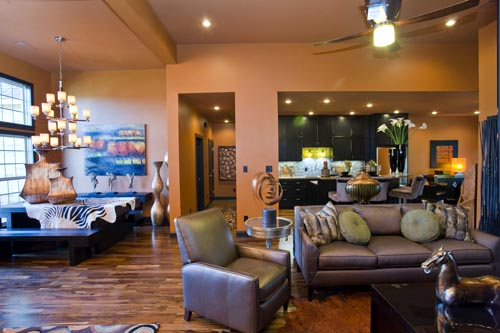 Craftsman, Italian, Mediterranean House Plan 82113 with 3 Beds, 2 Baths, 2 Car Garage Picture 7