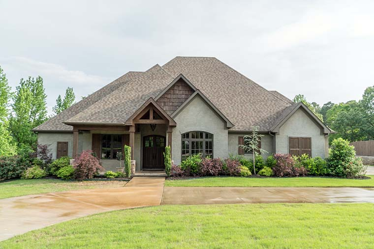 Craftsman, European House Plan 82230 with 4 Beds, 4 Baths, 3 Car Garage Picture 1