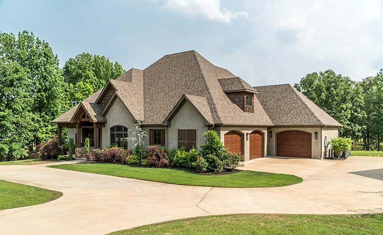 Craftsman, European House Plan 82230 with 4 Beds, 4 Baths, 3 Car Garage Picture 3