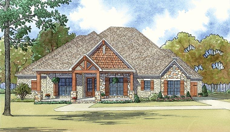 House Plan 82437