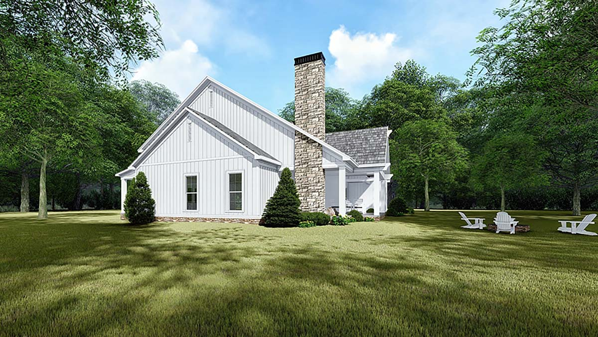 Bungalow, Country, Craftsman, Farmhouse House Plan 82542 with 3 Beds, 3 Baths, 2 Car Garage Picture 1