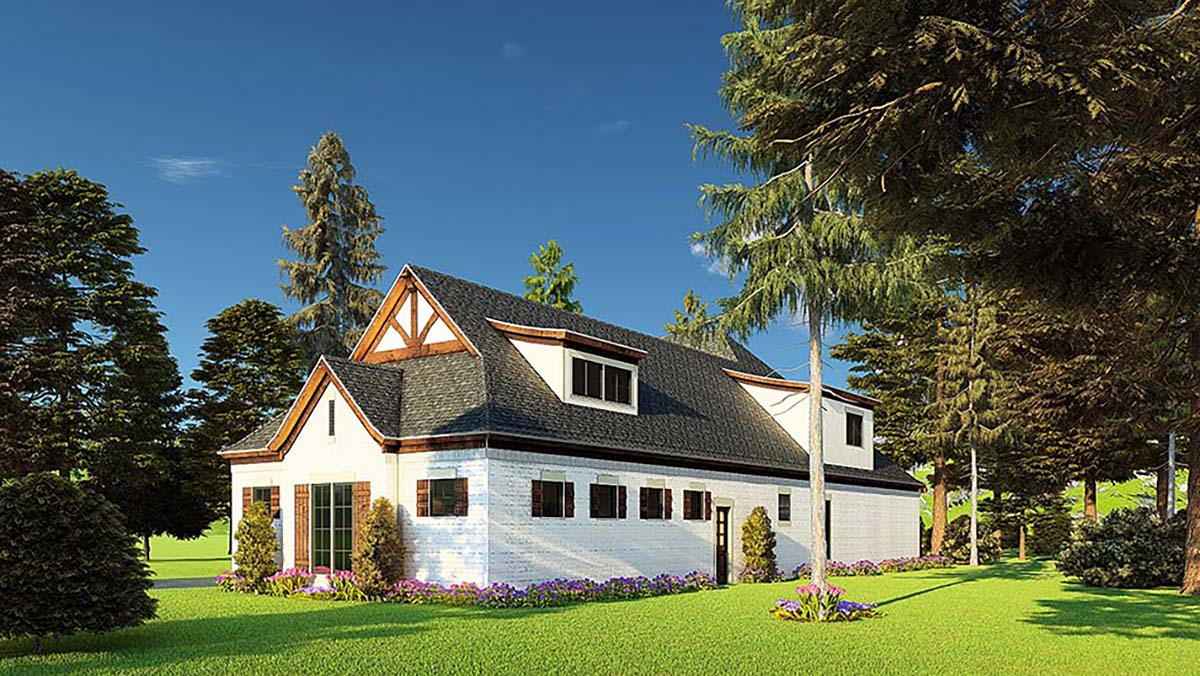 Bungalow, Craftsman, French Country House Plan 82574 with 4 Beds, 5 Baths, 3 Car Garage Picture 1
