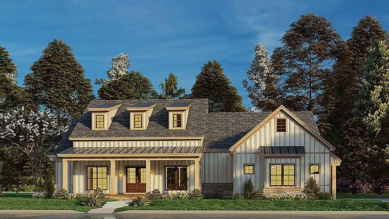 Bungalow, Craftsman, Farmhouse House Plan 82577 with 4 Beds, 3 Baths, 2 Car Garage Picture 5