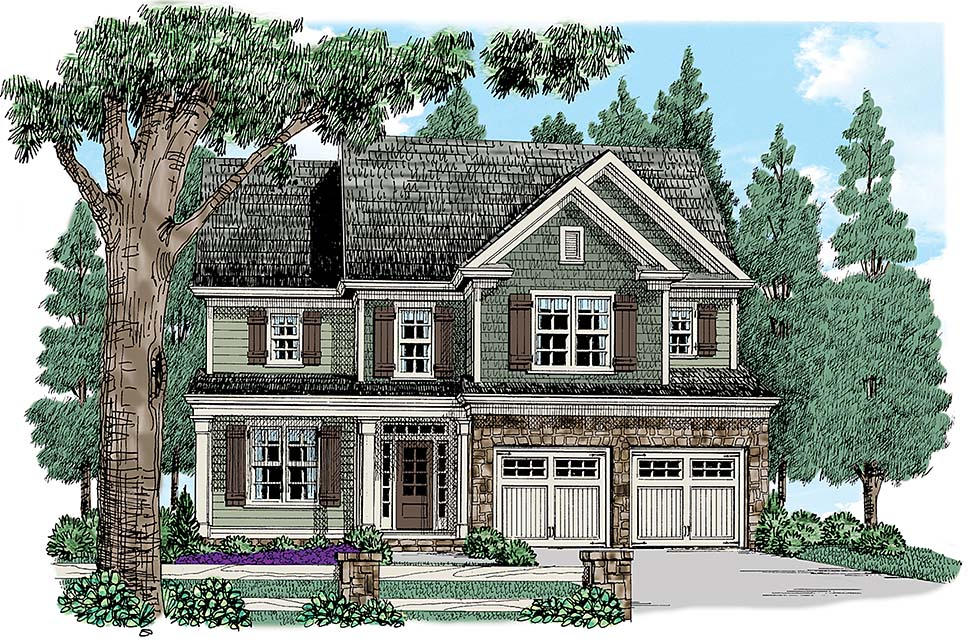 House Plan 83020
