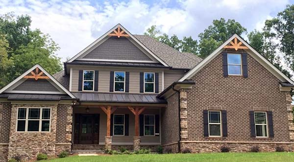 European, Traditional House Plan 83023 with 4 Beds, 3 Baths, 2 Car Garage Picture 1