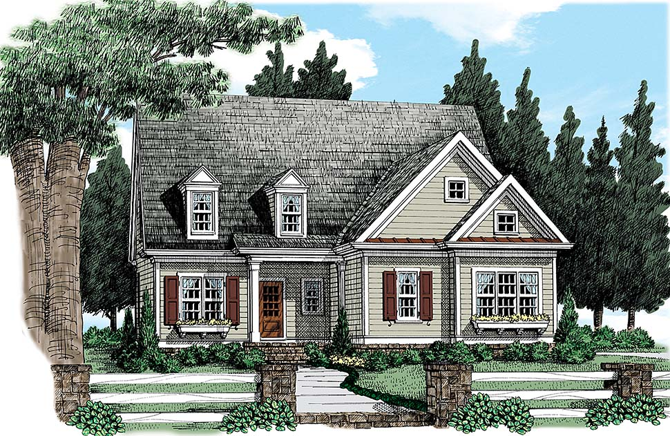 House Plan 83048