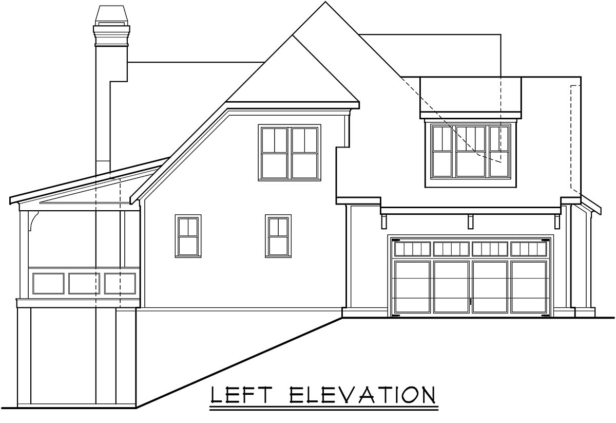 Country, Craftsman, Farmhouse, Southern House Plan 83117 with 4 Beds, 4 Baths, 2 Car Garage Picture 2