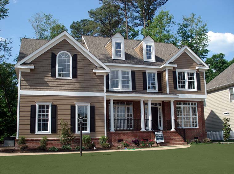 European, Traditional House Plan 83119 with 5 Beds, 3 Baths, 2 Car Garage Front Elevation