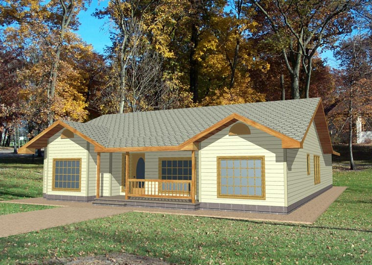 House Plan 85274
