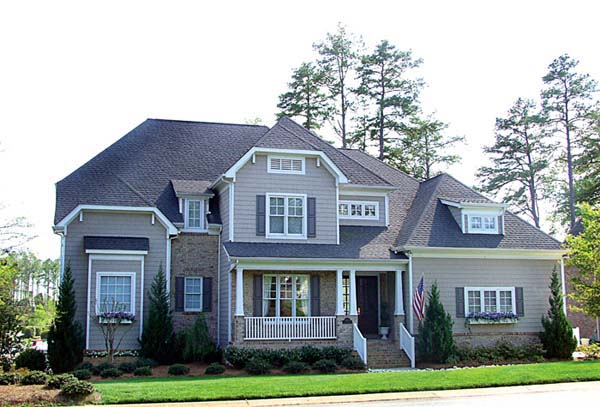 Cottage, Craftsman House Plan 85435 with 5 Beds, 5 Baths, 2 Car Garage Elevation
