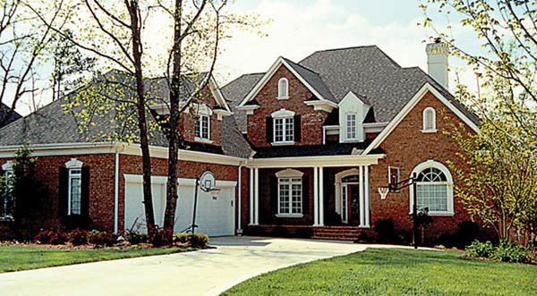 Cottage, Traditional House Plan 85567 with 6 Beds, 5 Baths, 3 Car Garage Elevation