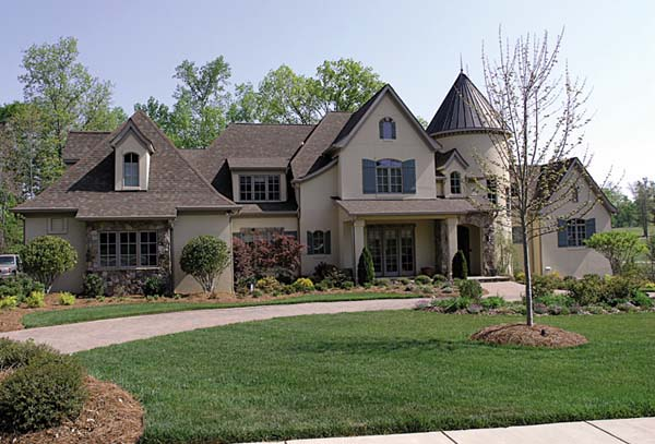 Country, European House Plan 85657 with 6 Beds, 9 Baths, 3 Car Garage Elevation