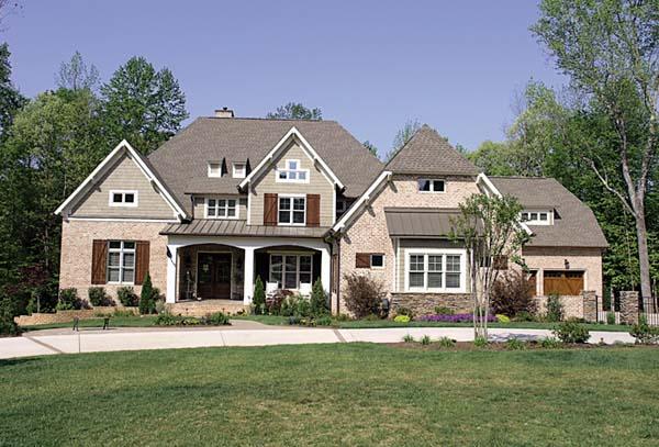 Cottage, Craftsman House Plan 85660 with 5 Beds, 8 Baths, 4 Car Garage Elevation