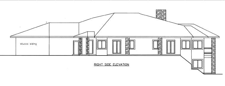 House Plan 85822 with 6 Beds, 9 Baths, 4 Car Garage Picture 2