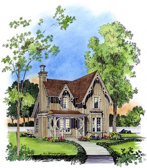 House Plan 86001