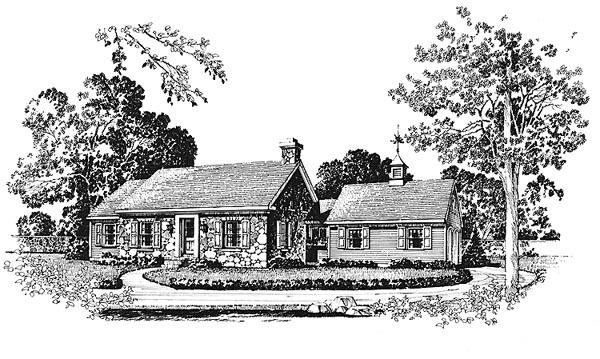 House Plan 86011